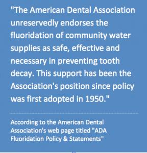 American dental association statement