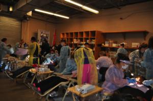 Volunteer's at Hopefest