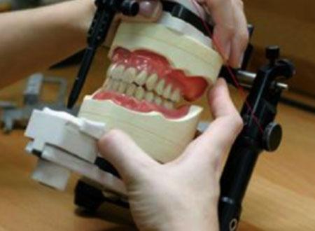 Making denture