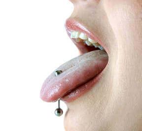 Tongue pierce