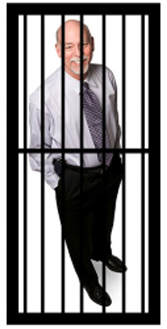Doctor martin behind the bars